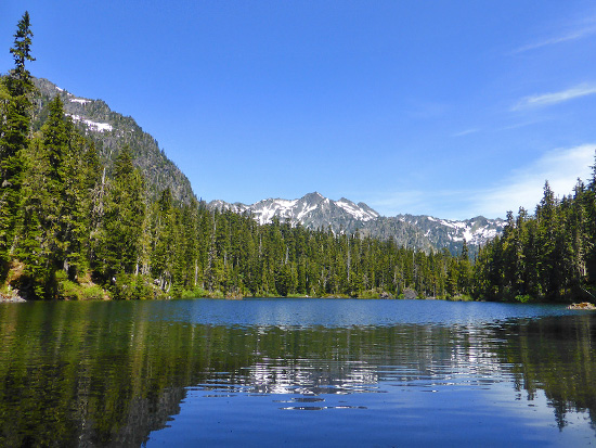 Lower Mildred Lake (3,754')